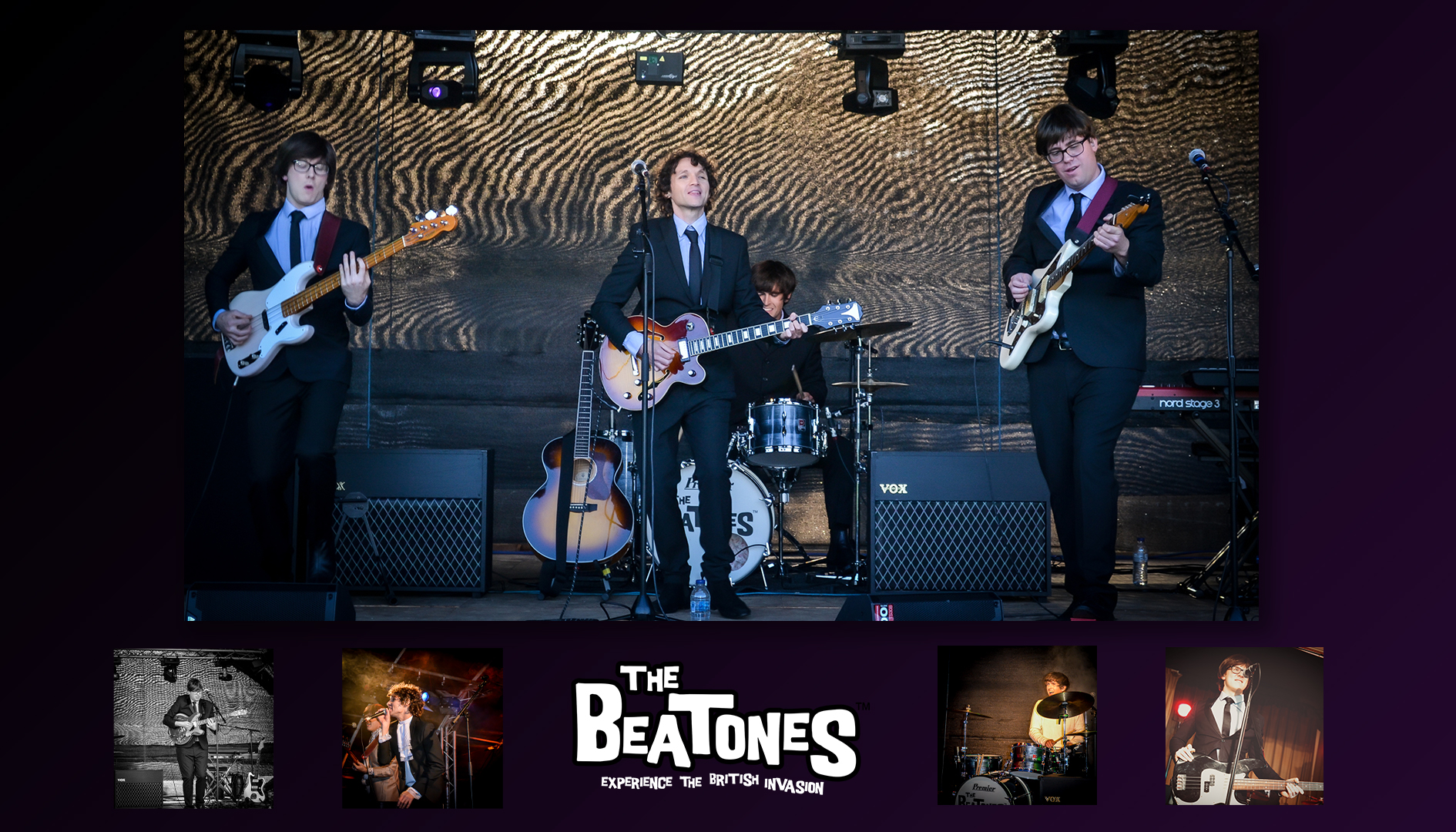 The Beatones sixties tribute band